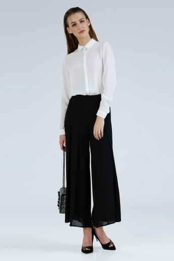 Iconic Palazzo Pants with Elasticised Waistband