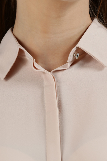 Iconic Long Sleeves Shirt with Concealed Placket