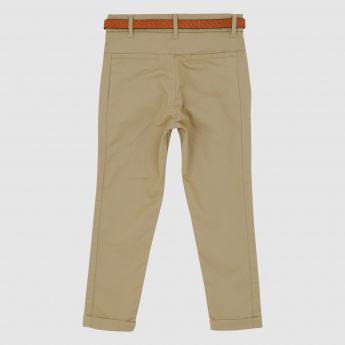 Iconic Full Length Trousers with Pocket Detail