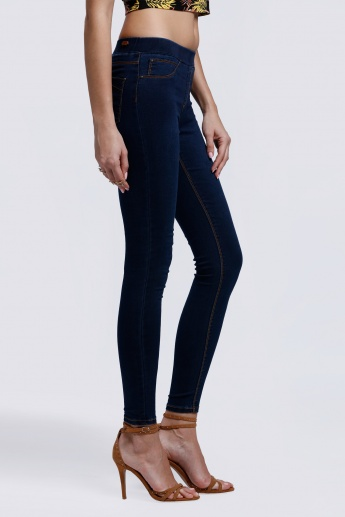 Full Length Jeggings with Elasticised Waistband