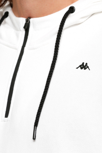 Kappa Short Sleeves Sweatshirt with Hood