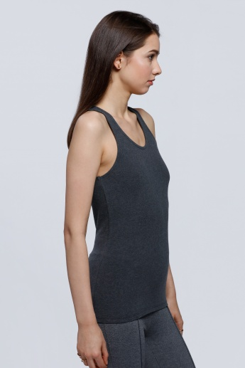 Sleeveless Vest with Racerback