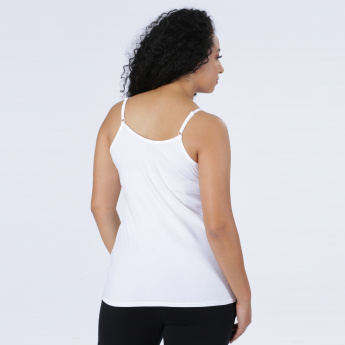 Round Neck Spaghetti Top