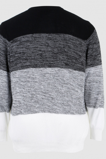 Long Sleeves Zippered Sweater